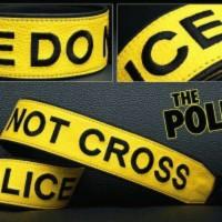 """Handmade Strap Kamera Lucu """"Police Line"""""""