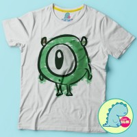 Tshirt / Kaos anak Monster inc Sulley Mike Wazowski cartoon