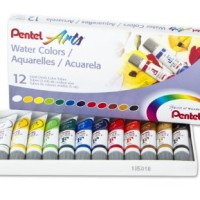 Pentel Water Colour 12 Warna / Cat Air Merk Pentel