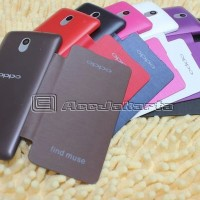 Flip Cover Oppo Find Muse R821t (case Oppo R821t)