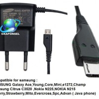 Charger SAMSUNG Galaxy Ace,Young,Core,Mini,e1272,champ dll