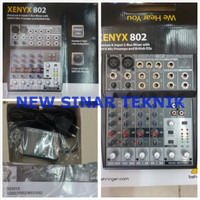harga Mixer Behringer Xenyx 802 2 Channel Mono 2 Channel Stereo Dgn Preamp Tokopedia.com