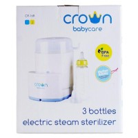 Crown Sterilizer Bottle - 3 Botol