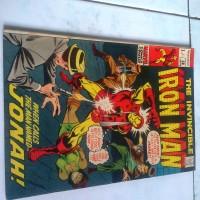 Komik Impor Jadul Iron Man 38 1971