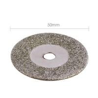 Mata Gerinda Diamond 50mm Mini Grinder Whell Cutting Disc Plat Besi
