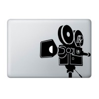Tokomonster Decal Sticker Video Camera Film Macbook Pro and Air