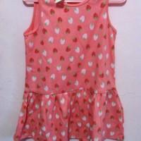 Dress Strawberry Baby Brand H&M 6-9m