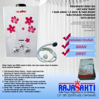 NIKO Water Heater Gas pemanas air murah hemat