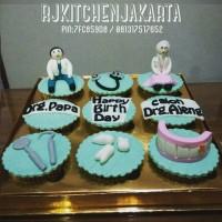 harga Dentist Cupcakes/Cupcakes Dokter Gigi Tokopedia.com