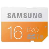 Samsung SDHC EVO Class 10 (48MB / S) 16GB