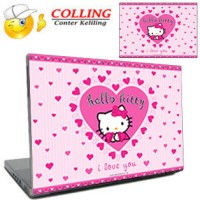 Stiker Laptop 11, 12, 14, 15 inch / Garskin Laptop / Hello Kitty _2