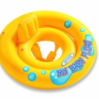 my baby float intex ban renang bayi bulat double ring seat pelampung