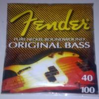 Senar Bass Fender ukuran 040-100