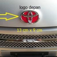 harga Logo Grill Depan Toyota Innova Lama Rush All New Vios Etios Agya Dll Tokopedia.com