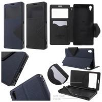 harga Roar Leather Soft Flip Window View Cover Case Sony Xperia Z5 Premium Tokopedia.com