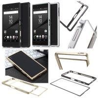 harga Slide On Metal Frame Bumper Case Cover Casing Sony Xperia Z5 Premium Tokopedia.com