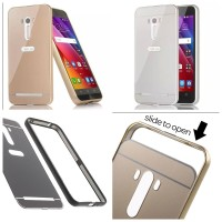harga Metal Bumper Slide Hard Back Cover Casing Case Asus Zenfone Selfie Tokopedia.com