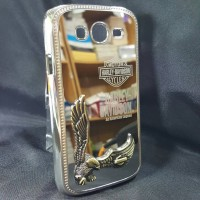 Samsung Grand / Grand Neo Plus Metal Case Bumper Cover Harley Chrom