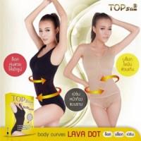 TOP SLIM BODY CURVES LAVA DOT