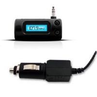 FM Transmitter 3.5mm Jack Plug with Car Charger For Smartphone