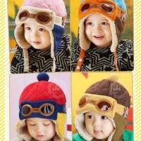 harga Topi Pilot Bayi Anak 4 Warna Cute Colorful Baby Kids Pilot Hat Lucu Tokopedia.com