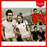 AGEN Baju Couple Polo Horse Five MURAH!!!