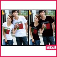 GROSIR Kaos Couple BENDERA PORTUGAL MURAH!!1
