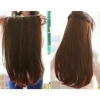 Jual Hair Clip Big Layer Lurus 60 cm / hairclip Murah