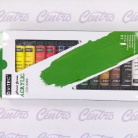 V TEC ACRYLIC COLOURS 12 ML / V TEC CAT AKRILIK 12 WARNA