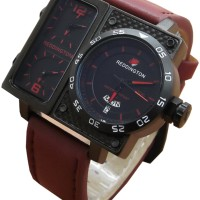 harga Jam Tangan Pria Tripletime Reddington R3029 Dark Brown Leather Tokopedia.com