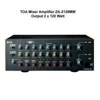 harga Mixer Amplifier / Mixer Amply Toa Za-2128mw / Za 2128 Mw (2x120w) Tokopedia.com