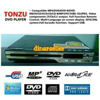DVD PLAYER TONZU SLIM COMPACT