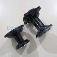 Tromol Set KLX Depan + Belakang 28H Black
