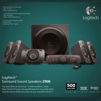 Speaker Logitech Z906 garansi 1 tahun