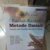 Kaidah-kaidah metode ilmiah