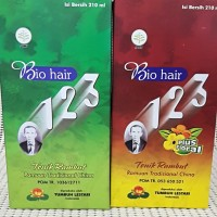 BIO HAIR 123 TONIK RAMBUT 210 ML / HAIR TONIC