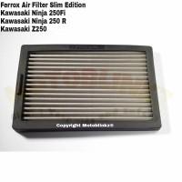 Ferrox Filter Udara Kawasaki Ninja 250 Fi / Ninja 250R / Z250 Slim Ed
