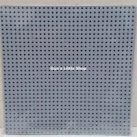 Baseplate Lego base plate - Lele 32 x 32 dots Grey