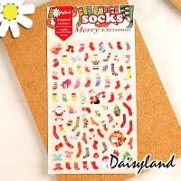 harga Daisyland Stickers Christmas Socks / Stiker Hias Motif Kaus Kaki Natal Tokopedia.com