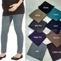 Celana Cotton Stretch Jumbo (XXXXL/L5), Celana Hamil Legging Katun