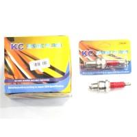 BUSI KC RACING KAKI 3 D8EAT (ISI 10PCS)