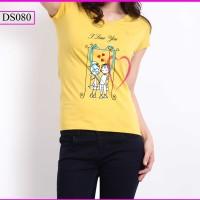 GROSIR T-Shirt Women I Love You MURAH!!!