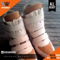 harga Sepatu Sneaker Wedges Pria & Wanita Suede Tokopedia.com