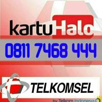 Kartu Halo Telkomsel || 0811 7468 444
