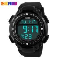SKMEI Pioneer Sport Watch Water Resistant 50m - DG1067 - Black