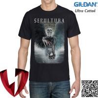 Kaos Band Metal SEPULTURA 02 - Original Gildan Ultra Cotton