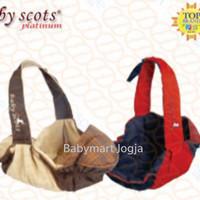 baby scots slingrider carrier gendongan bayi samping instan sling