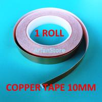 harga 10mm X 30 Meter 1 Roll Copper Tape Isolasi Tembaga Solatip Jalur Pcb Tokopedia.com