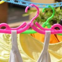 Hanger Lipat Travel Jemuran Gantungan Baju Celana Bayi Anak Dewasa