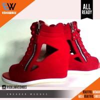 Jual sneaker wedges boot stylish kets heels adidas nike kickers Murah